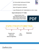 Espectrofotometria UV Visible Exposicion
