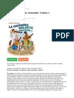 La Chitarra Volante Ensemble Volume 1 PDF e1af3158c