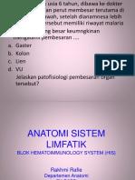 1.Anatomi Sistem Limfatik