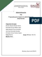 Pia Administracion