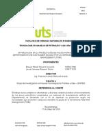 OPTIMIZACIÓN EN LA PRODUCCIÓN DE POZOS PETROLÍFEROS DEL DEPARTAMENTO DE SANTANDER GUIADO POR LA HERRAMIENTA TOTAL WELL MANAGEMENT (TWM)
