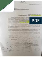 Carta Rogativa o exhorto internacional
