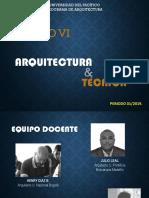 Presentación Arquitectura y Técnica
