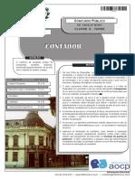 Instituto Aocp 2013 Colegio Pedro II Contador Prova