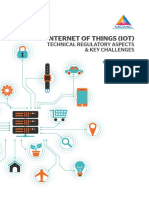 IOT Technical Regulatory Aspects Key Challenges