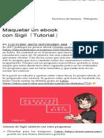 Maquetar Un eBook Con Sigil (Celia Añó)