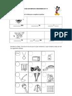Guía letra m y p