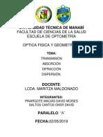 Optica Fisica y Geometrica Tema 1