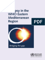 Epilepsy in Thewho Eastern Med Region