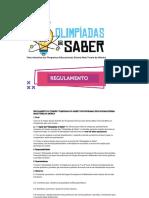Olimpiadas Do Saber - Regulamento