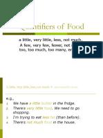 1 Quantifiers of