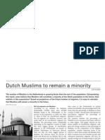 Dutch Muslims to Remain Minority