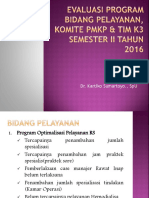 Evaluasi Program Bidang Pelayanan & KoMITE PMKP Semester I