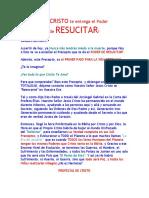 Carta 5 - Hoy CRISTO Te Entrega El Poder de RESUCITAR!