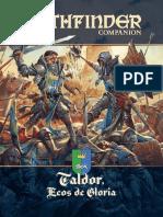 Pathfinder - Taldor, Ecos de Gloria
