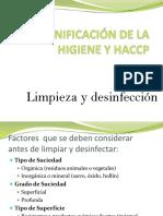 Clase 10 Limpieza y Desinfección Alumnos