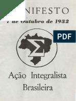 Manifesto 7 de outubro de 1932 Ação integralista brasileira.pdf