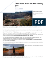 Another imminent dam collapse in Brazil