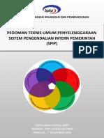 1.0 Pedoman Teknis Umum SPIP