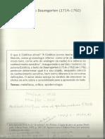 Baumgarten, Estética.pdf
