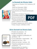 Apresentação Silvio Gallo