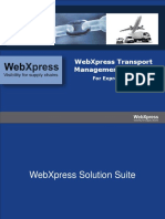 WebXpress Solutions TMS Express Cargo