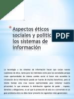 Aspectos c3a9ticos Sociales y Polc3adticos de Los Sistemas de Informacic3b3n