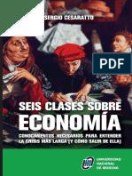 Seis Lecciones de Economía Sergio Cesaratto