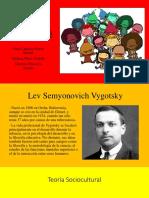 Teoría Del Desarrollo Sociocultural Lev Vygotsky