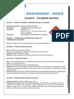 Ficha de Seguridad Polimero Catiónico Rapised v. 15112016