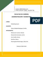 Proyecto Marketin Social