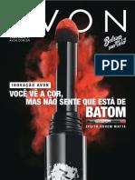 Folheto Avon Cosméticos - 11/2019