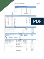 Conexion a Cortante Ipe200-Heb120