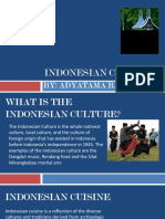 Indonesia Culture