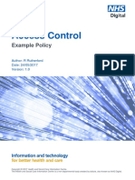 Access Control - Example Policy 230517