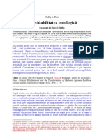 Indecidabilitatea ontologică (Kelley L. Ross)