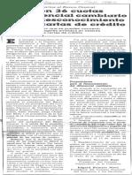 Edgard Romero Nava - Plantearon Empresarios Al Banco Central Pago en 36 Cuotas El Diferencial Cambiario Por El Desconocimiento de Las Cartas de Credito - El Universal 08.09.1989