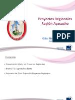 Proyectos Regionales - Región Ayacucho / Gilat Networks Peru