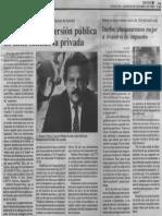 Edgard Romero Nava - Si No Hay Reconversion Publica No Tiene Sentido La Privada - Diario Reporte 05.10.1989