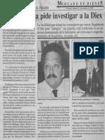Edgard Romero Nava pide Investigar a la Diex - Consecomercio recurre a fiscalía - Mercado de Bienes 20.10.1989