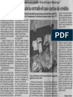 Edgard Romero nava y Ernesto Navarro - Propuesta BCV habría cerrado el caso cartas de credito - El Diario de Caracas 20.10.1989