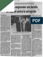 Es Hora de Emprender Una Batalla Sin Cuartel Contra La Corrupcion - El Siglo 27.07.1989