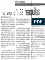 Nelson Matamoros Prince - Ya vienen las maquilas - El Aragueño 12.09.1989