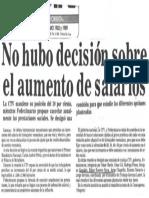 No Hubo Decision Sobre El Aumento de Salarios - Diario El Tiempo 30.10.1989
