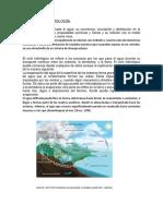 Estudio de Hidrología