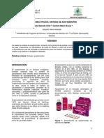Sintesis de Acetaminofen