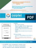 Reglamento para la Atención de Reclamos de Usuarios de Servicios Públicos de Telecomunicaciones Res. 047-2015-CD/OSIPTEL