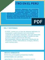 Catastro en El Perú