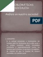 problemas sociales ppt