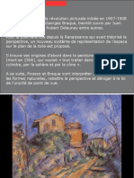 Histoire de L'Art - Le Cubisme